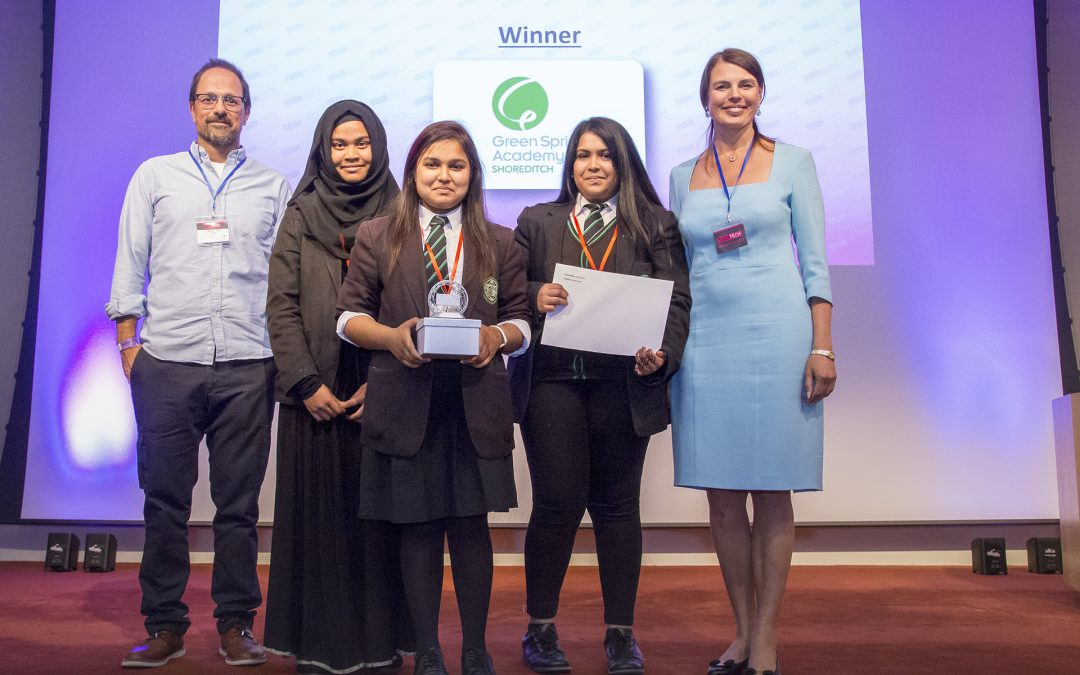 Cancer detectors and floating cities win plaudits as girls top 2017 TeenTech Awards