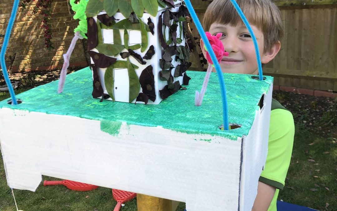Buildings from our TeenTech City of Tomorrow at Home – Week 6