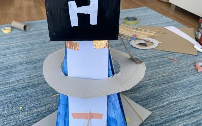 Buildings from our TeenTech City of Tomorrow at Home – Week 5